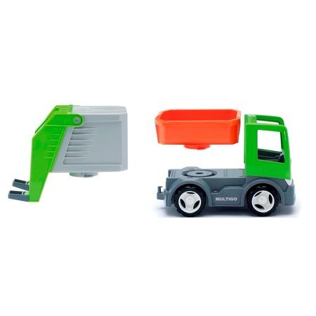 Купить Машинка игровая EFKO «Мусоровоз со сменным кузовом»
