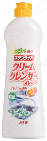 Крем чистящий для кухни KANEYO «Апельсиновая свежесть» посуда кухонная