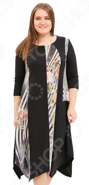 Платье Матекс «Природная красота». Цвет: серый