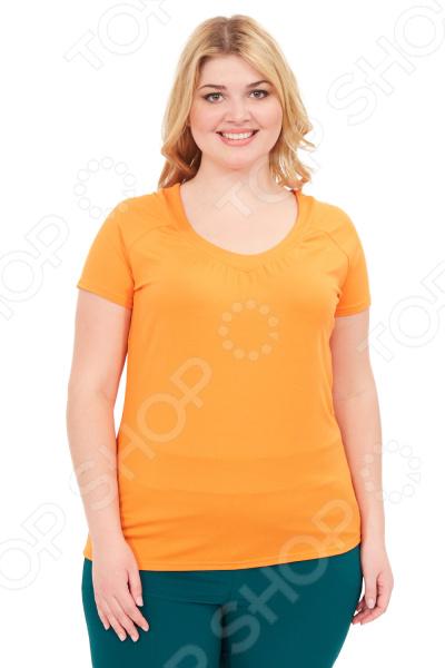 купить Футболка Матекс «Сьюзи». Цвет: оранжевый недорого