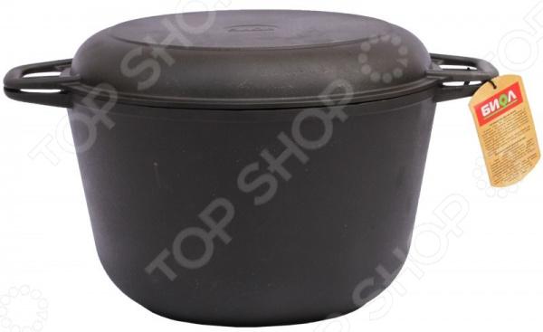Кастрюля БИОЛ с крышкой-сковородой кастрюля с крышкой сковородой биол 6 л 0206