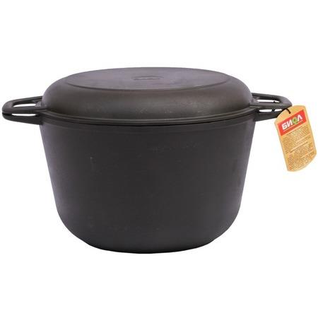 Купить Кастрюля БИОЛ с крышкой-сковородой
