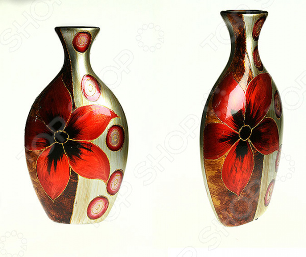 Ваза декоративная «Огненный цветок» 214513