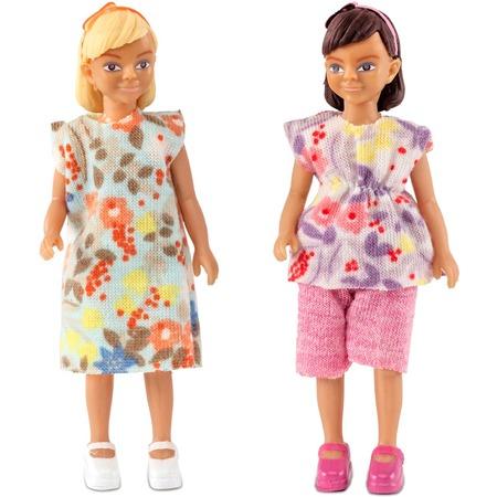 Купить Набор кукол Lundby «Две девочки»