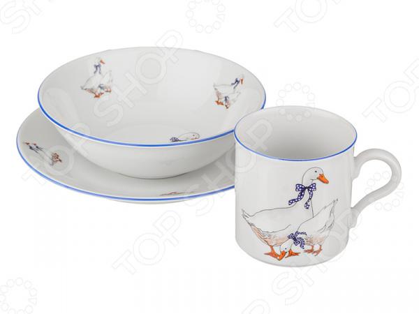 Набор посуды для детей M.Z. «Гуси» 655-064