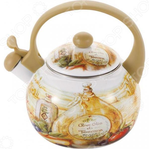 Чайник со свистком Wellberg WB-3442