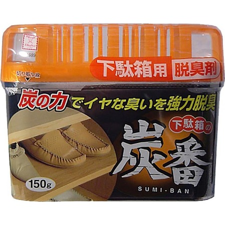 Купить Поглотитель запахов Kokubo Deodorant Sumi-Ban для обувных шкафов с древесным углем