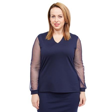 Купить Блуза Матекс «Кристианна». Цвет: синий