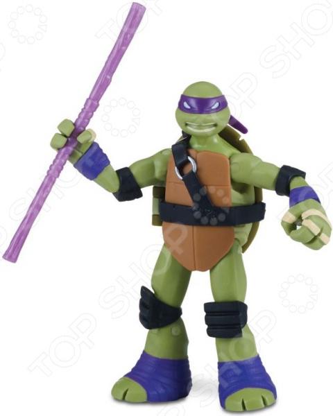Игрушка-фигурка Nickelodeon «Донни с боевым панцирем» игрушка фигурка nickelodeon рафаэль