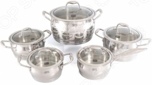 цена на Набор кухонной посуды Gipfel CANTATA 1538