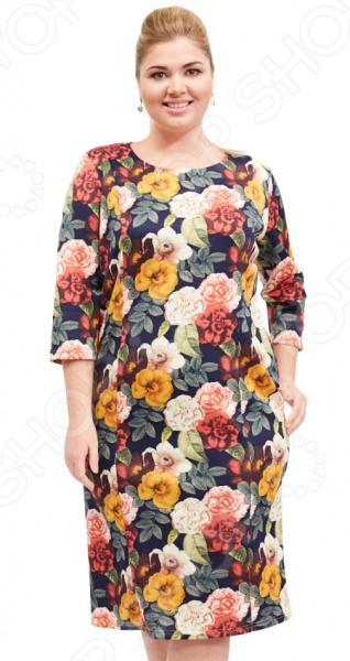 Платье Лауме-стиль «Легкая влюбленность». Цвет: розовый