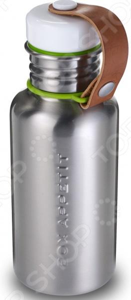 Фляга Black Blum Box Appetite прекрасная альтернатива ненадежным пластиковым бутылкам, которая поможет удобно перевозить воду, соки и пр. Герметично закрывающаяся крышка предотвратит вытекание содержимого. Рукоятка-петелька, выполненная из искусственной кожи, не даст колпачку потеряться. Основной корпус выполнен из нержавеющей стали этот материал прекрасно взаимодействует с жидкостями, сохраняя их вкус и запах неизменными.