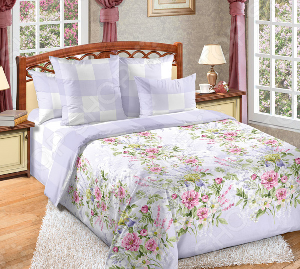 цена Комплект постельного белья Королевское Искушение «Очарование 1» онлайн в 2017 году