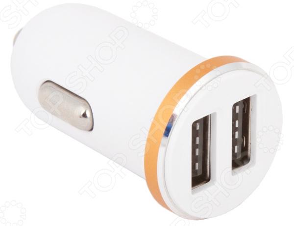 Устройство зарядное автомобильное Ldnio DL-C22 2,1 А 2хUSB автомобильное зарядное устройство ldnio 2 usb 3 4а кабель micro usb dl c29 white