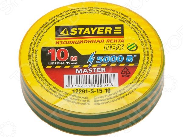 Изолента Stayer Master 12291-15-10 набор ключей комбинированных stayer master 27085 h6