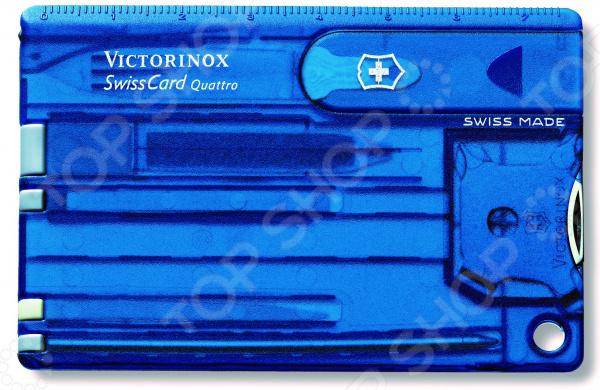 Карта швейцарская Victorinox SwissCard Quattro