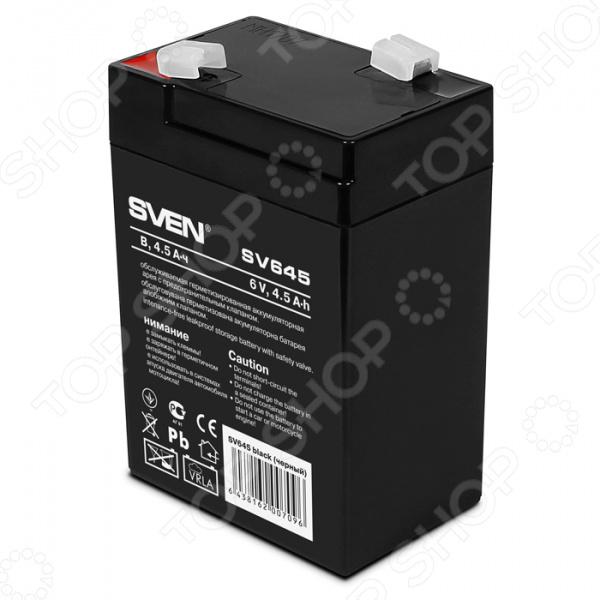 Батарея аккумуляторная Sven SV645 батарея для ибп sven sv1290 12v 9а