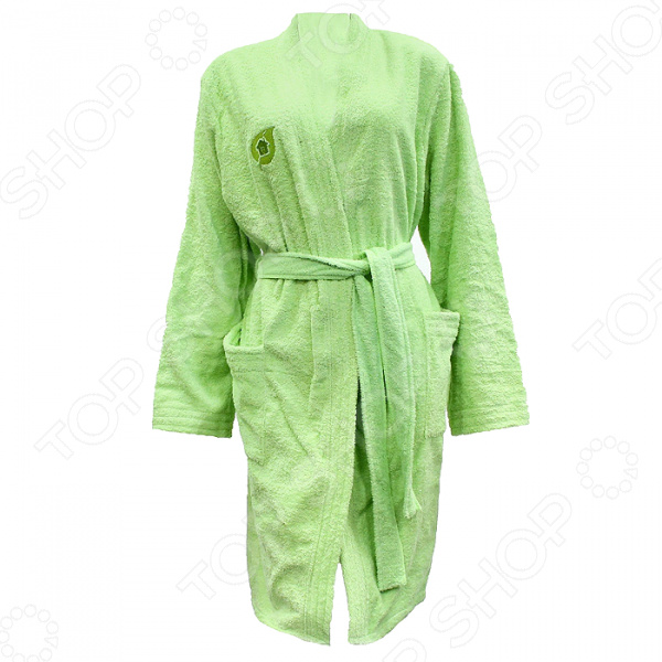 Халат махровый Банные штучки женский вафельный халат банный м xxl цвет в ассортименте банные штучки 33356