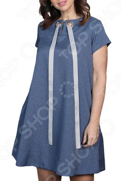 Платье Prima Linea «Ямайка». Цвет: синий