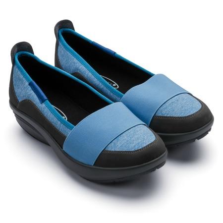 Балетки спортивные Walkmaxx Comfort 2.0. Цвет: голубой
