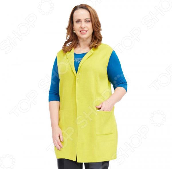 Жилет Milana Style «Заира». Цвет: желтый жилет milana style milana style mi038ewxjv46