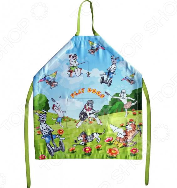 Фартук детский Gift'n'home «Жизнь собачья» оцинкованный фартук на парапет