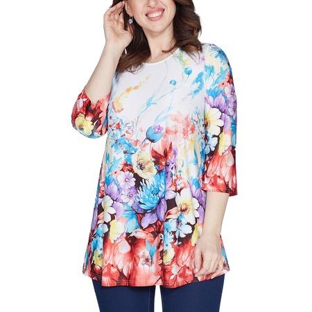 Купить Блуза Лауме-Лайн «Яркое воспоминание». Цвет: белый