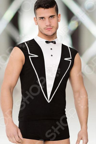 Костюм для ролевых эротических игр женский SoftLine Collection Shirt and Shorts костюм сетка softline collection ligia
