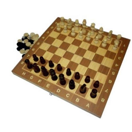 Купить Игра настольная 3 в 1: шашки, шахматы, нарды