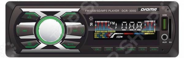 Автомагнитола Digma DCR-300