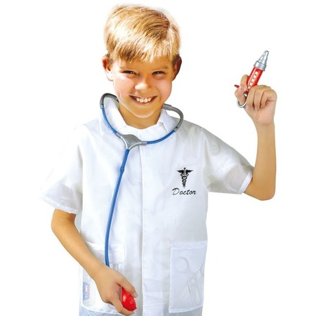 Купить Ролевой костюм для мальчика Город игр с аксессуарами «Доктор»