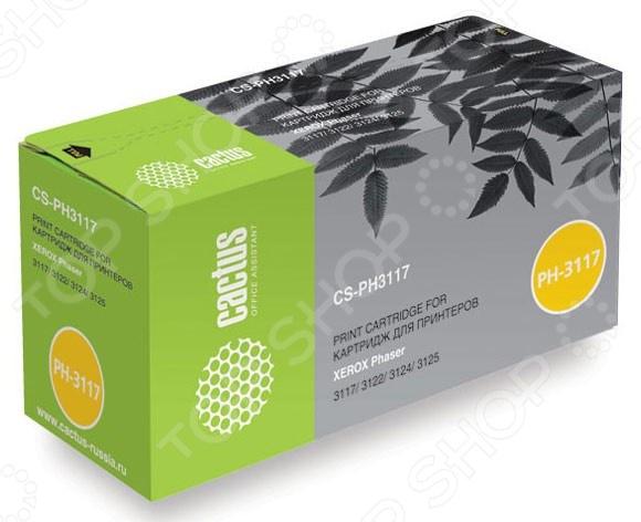 Картридж CACTUS CS-PH6000BK картридж для принтера и мфу cactus cs c716c