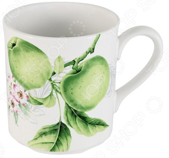Кружка Imari «Зеленые яблоки» банка для сыпучих продуктов imari зеленые яблоки im55060 1 a2211al