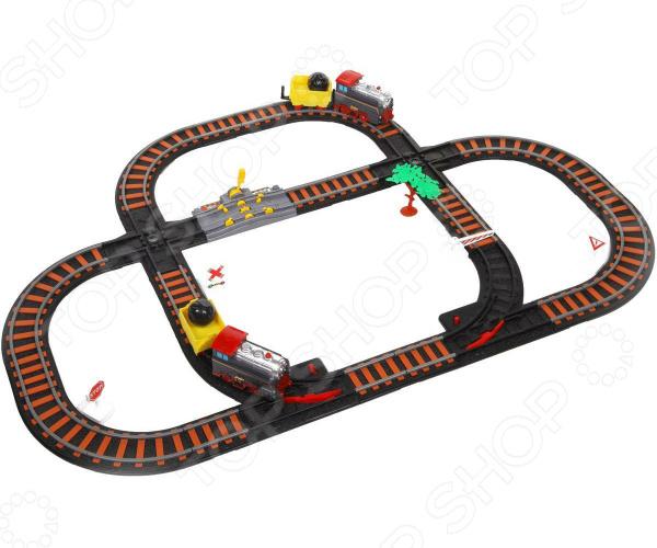 Набор железной дороги игрушечный Yako «Останови крушение!» 1724268