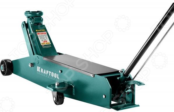 Домкрат гидравлический подкатной Kraftool 43455-10