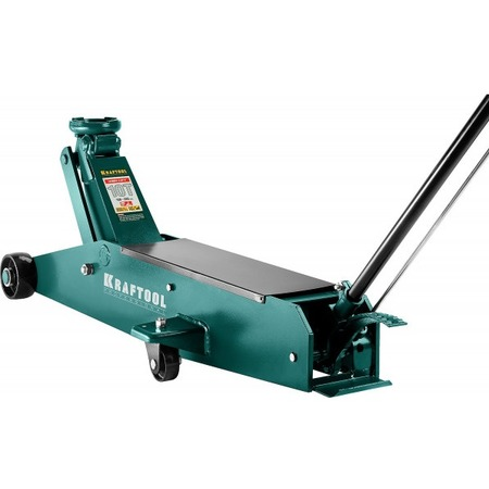 Купить Домкрат гидравлический подкатной Kraftool High-Lift удлиненный 43455-10