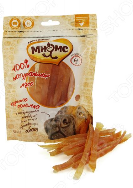 Лакомство для собак Мнямс «Куриная соломка с хондроитином»