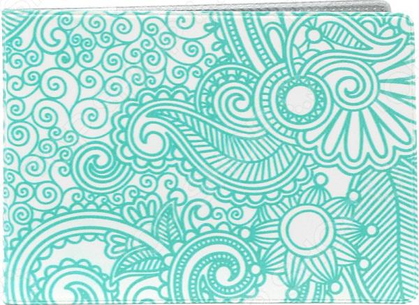 Обложка для студенческого билета Mitya Veselkov «Мятный узор» цена
