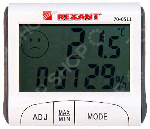 Термогигрометр Rexant 70-0511 прибор для измерения температуры oem 2015 lcd c0379