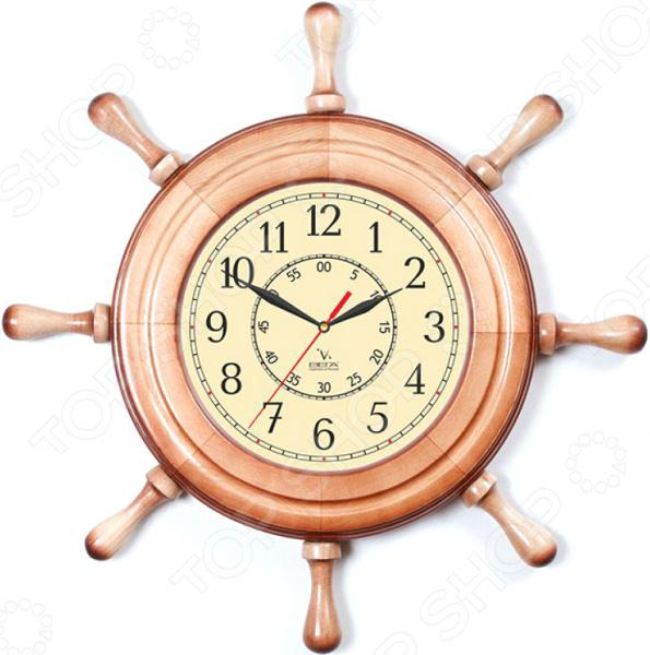 Часы настенные Вега Д 7 НД 2 «Штурвал. Классика» ул шумилова д 13 кор 2 квартиру