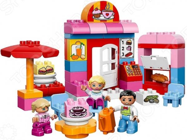 Конструктор LEGO Duplo Кафе конструктор lego duplo кафе минни 27 элементов 10830