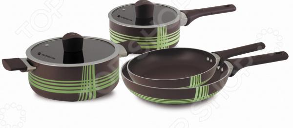 Набор посуды Polaris Allure «Шоколад»