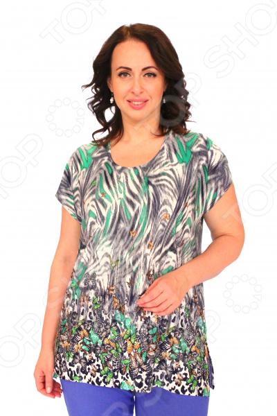 Блуза Pretty Woman «Руфина». Цвет: зеленый блуза pretty woman волшебный взгляд цвет зеленый