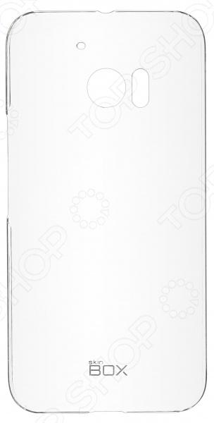 Чехол защитный skinBOX 4People Crystal для HTC 10 Lifestyle