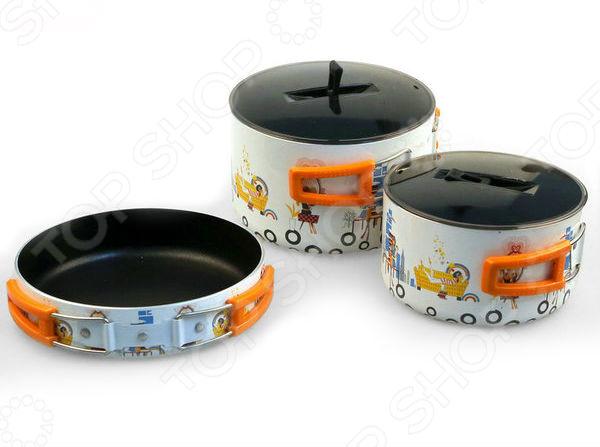 Набор портативной посуды Fire-Maple FMC-K8 чайник fire maple firemaple fmc xt1 kettle242g 0 8 fmc xt1