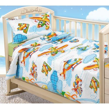Купить Ясельный комплект постельного белья ТексДизайн «От винта!»