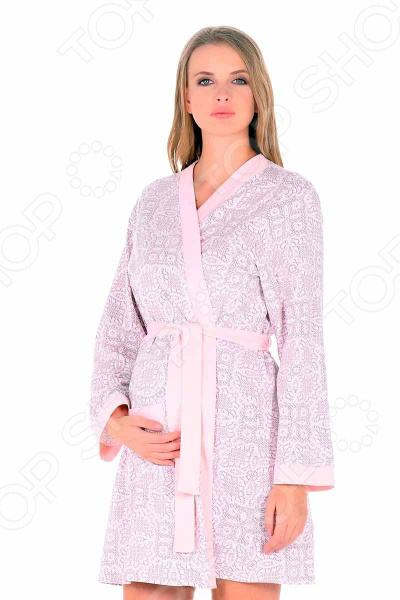 Халат для беременных и кормящих мам Nuova Vita 505.01 Pretty Mama
