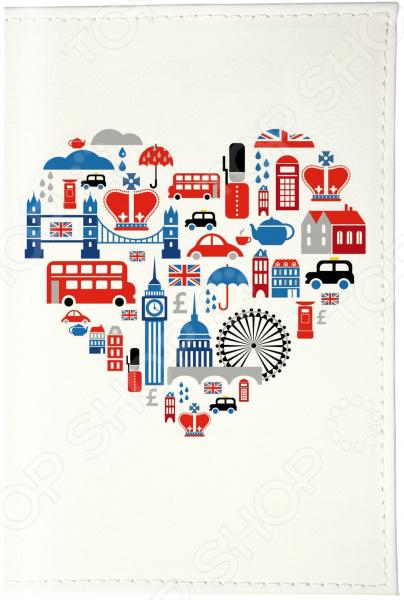 Визитница Mitya Veselkov «Сердце Лондона» визитницы mitya veselkov визитница олени на черном