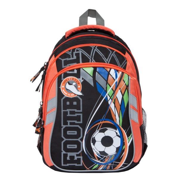 фото Рюкзак школьный Orange Bear V-57. Цвет: оранжевый, черный