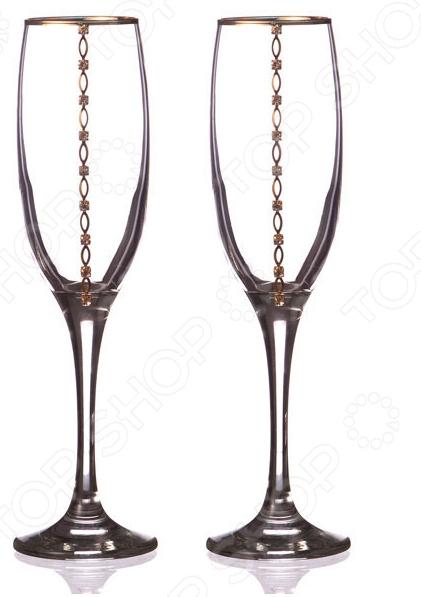 Набор бокалов для шампанского 802-510-02 набор бокалов для бренди коралл 40600 q8105 400 анжела